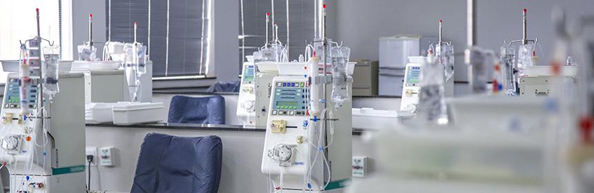 Analyse des eaux d'hémodialyse